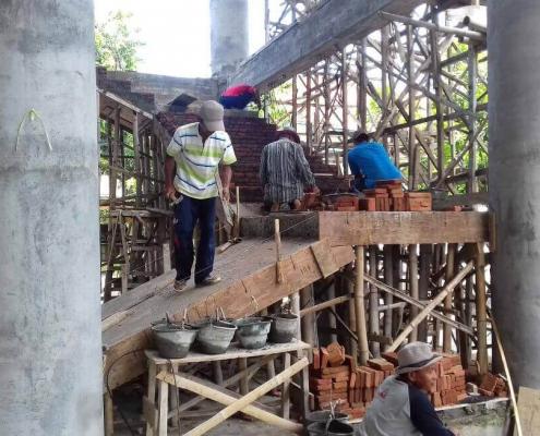 Pembangunan Masjid Jami' Nurul Jadid