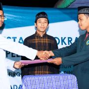 Pesta Demokrasi dan Pelantikan Pengurus BPK MTs Nurul Jadid