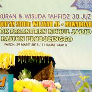Tasyakuran dan Wisuda 30 Juz RQ STIFIn Al Mawaddah