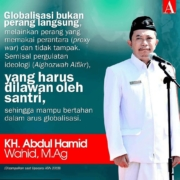 Kata mutiara KH. Abd. Hamid Wahid