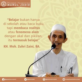 Kata Mutiara KH. Moh. Zuhri Zaini
