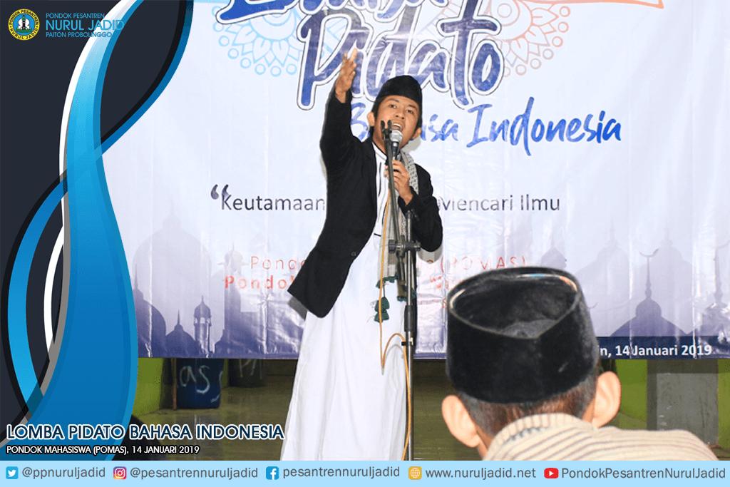 Lomba Pidato Bahasa Indonesia POMAS