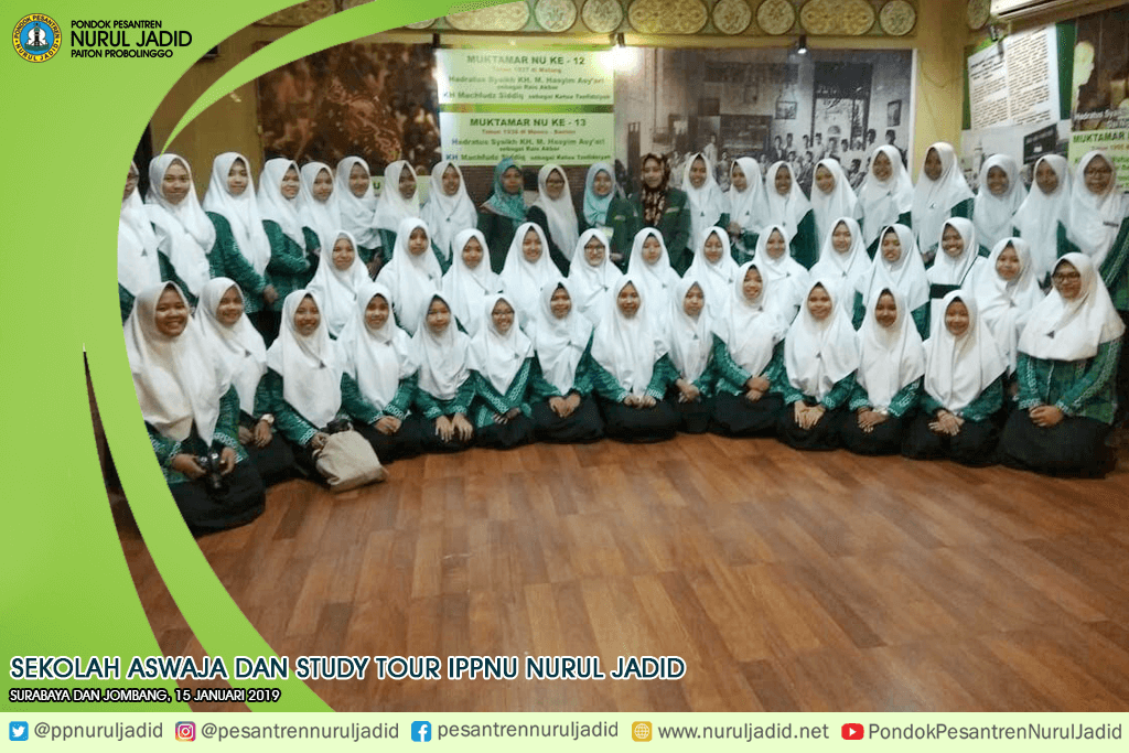 Kunjungan Aswaja dan Study Tour IPPNU Nurul Jadid