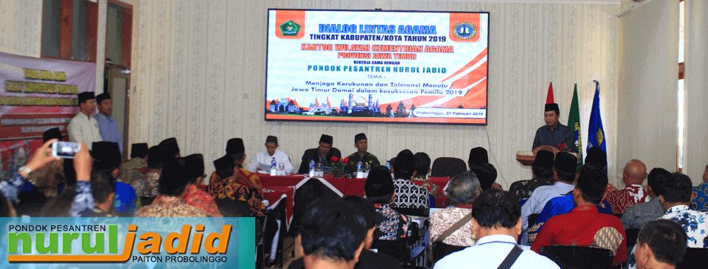Kemenag Jatim Adakan Dialog Lintas Agama di Nurul Jadid, ini Alasannya