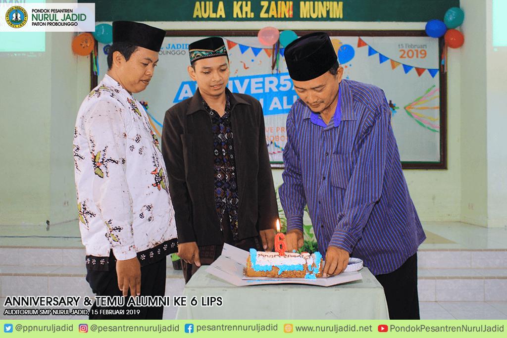 Anniversary dan Temu Alumni ke 6 LIPS Nurul Jadid
