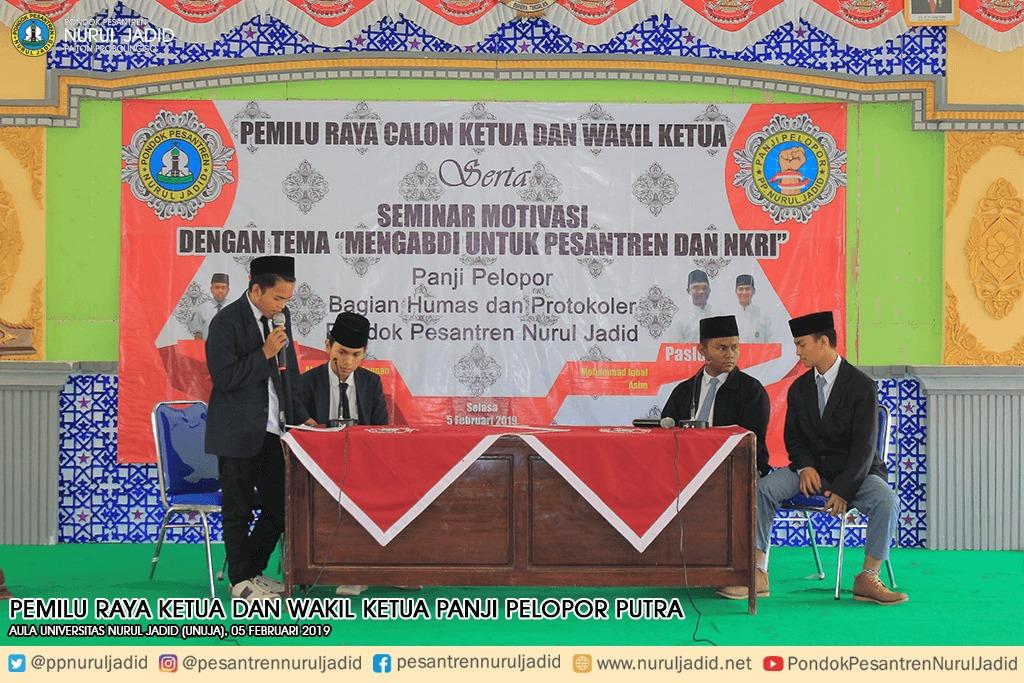 Pemilu Raya Ketua dan Wakil Ketua Panji Pelopor Putra