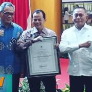 PP. Nurul jadid Mendapat Penghargaan Dari KEMENHAN RI