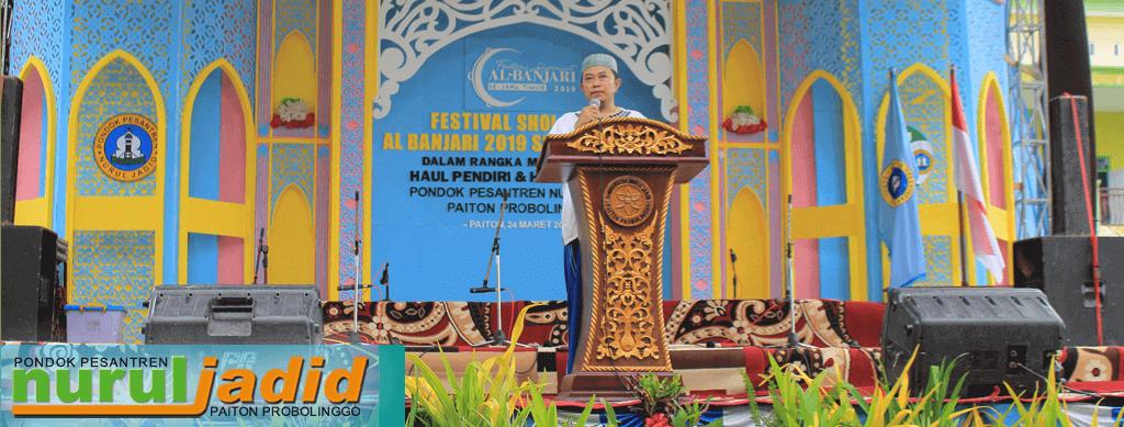 KH. Hamid: FESBAN, adalah Kebangkitan seni Nurul Jadid