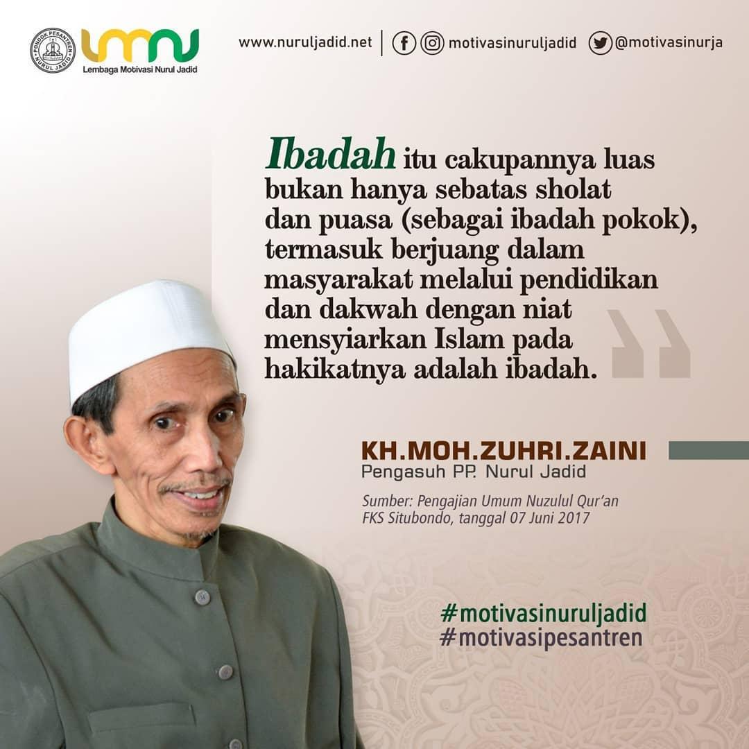 20190917 Kata Mutiara Kiai Zuhri 32 Nuruljadid Net