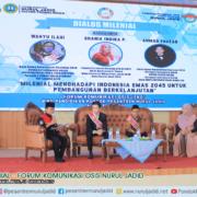 "DIALOG MILENIAL ""Forum Komunikasi Osis Nurul Jadid (FKO-NJ)"""