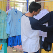 Membanggakan, Konveksi Karya Santri Nurul Jadid di Bazar Nusantara MUSKERWIL
