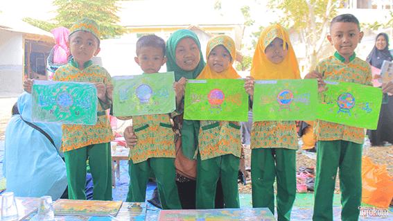 Ratusan Anak Anak Tk Ra Ramaikan Lomba Mewarnai Muskerwil Nuruljadid Net