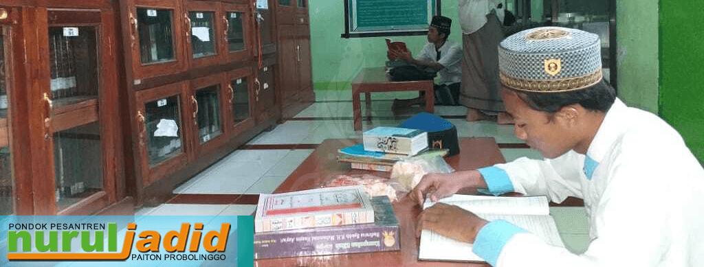 Pecut Minat Baca Santri dengan Perpustakaan