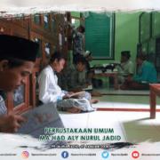 Perpustakaan umum Ma'had Aly Nurul Jadid