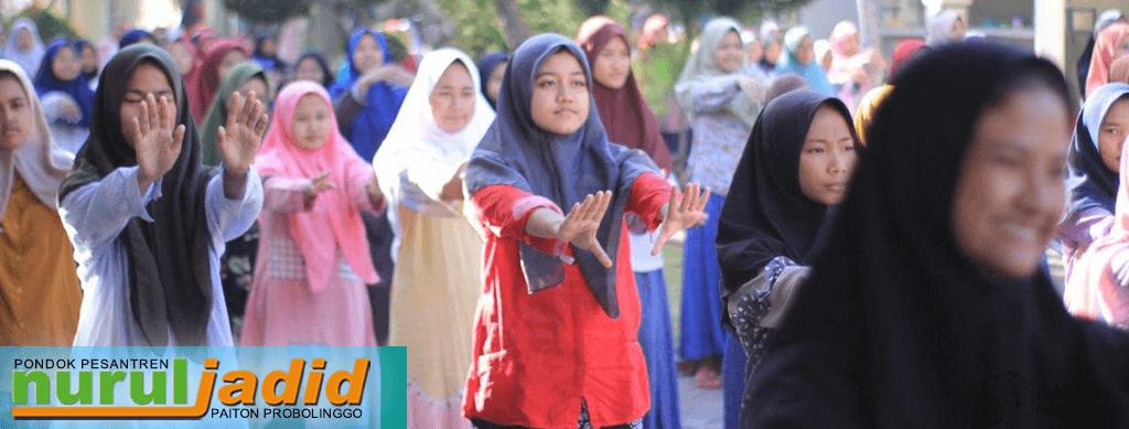 Selama Lockdown Al-Hasyimiyah Lakukan Senam di Pagi Hari